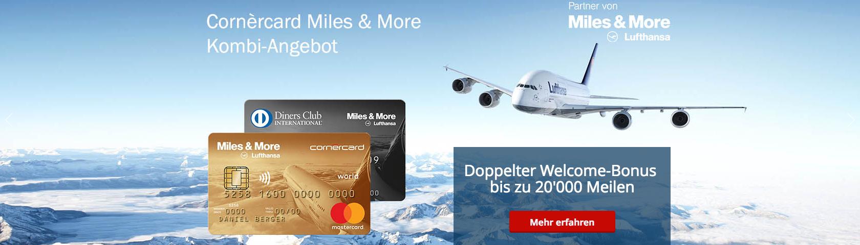 media BROS managed seit über 7 Jahren sämtliche Online Kampagnen von Cornèrcard für Cornèr Bank.